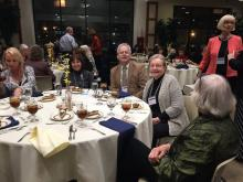 ISMTA members at 2015 Conference banquet